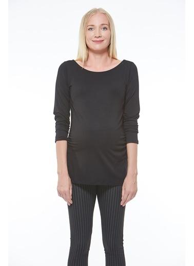 Motherway Maternity Tunik Siyah